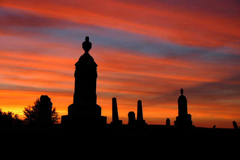 Cemetery Sunset Revisited