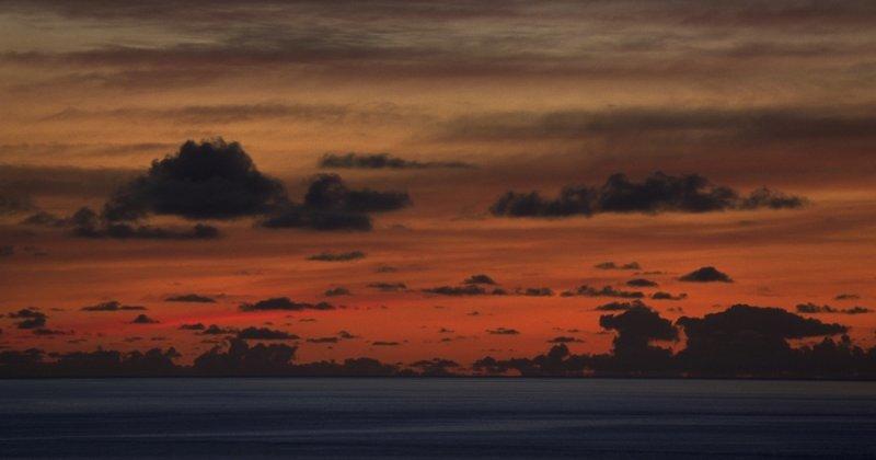 Pre-dawn sky, La Palma, Canary Islands
