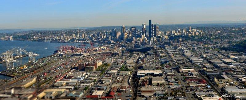Sunny Seattle,  WA
