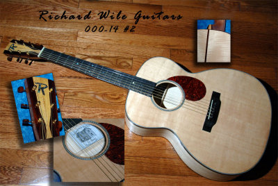 000-14 Flamed Maple Guitar #2