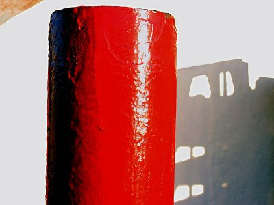 red with shadow