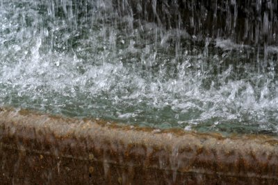 Fountain close up