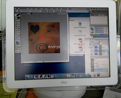 My first logo test on classroom Mac - no idea what I was doing