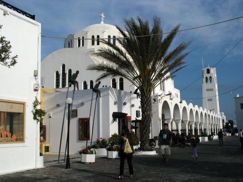 Metropolis Church in Fira