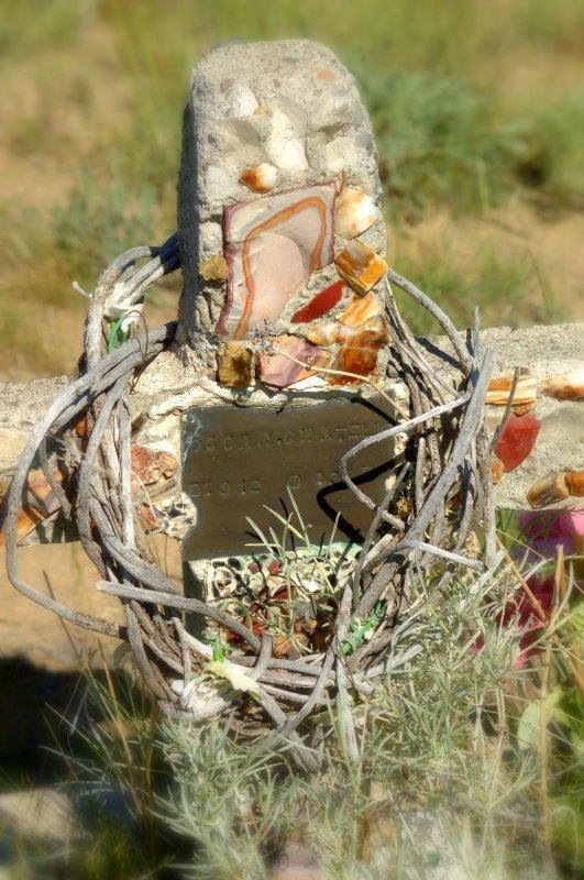 Cross of stones