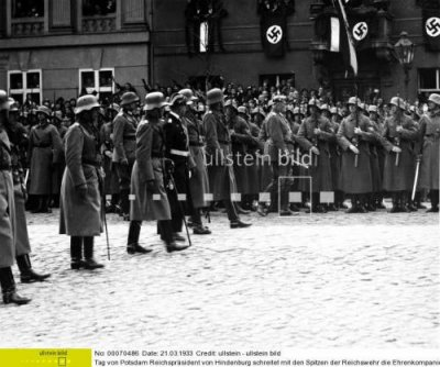 Opening of Parliament on March 21, 1933