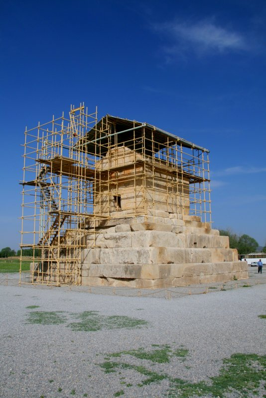 Tomb of  Cyrus II the Great, founder of the Persian Empire