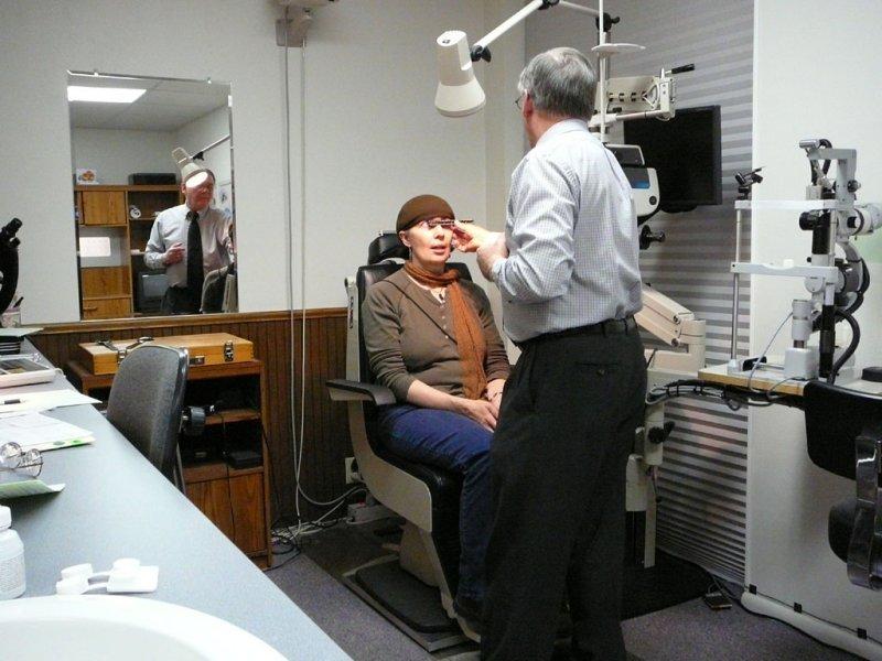 Optometrist Dr Michael Flandro and My Wife Deborah smallfile P1010043.jpg