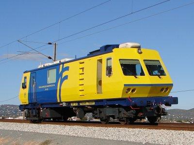 Train in Faro railway