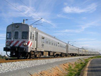 Train at Faro Railroad