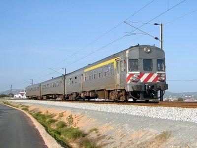 Train at Faro Railway