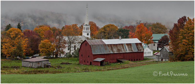 _MG_2253 Vermont Barn and Church