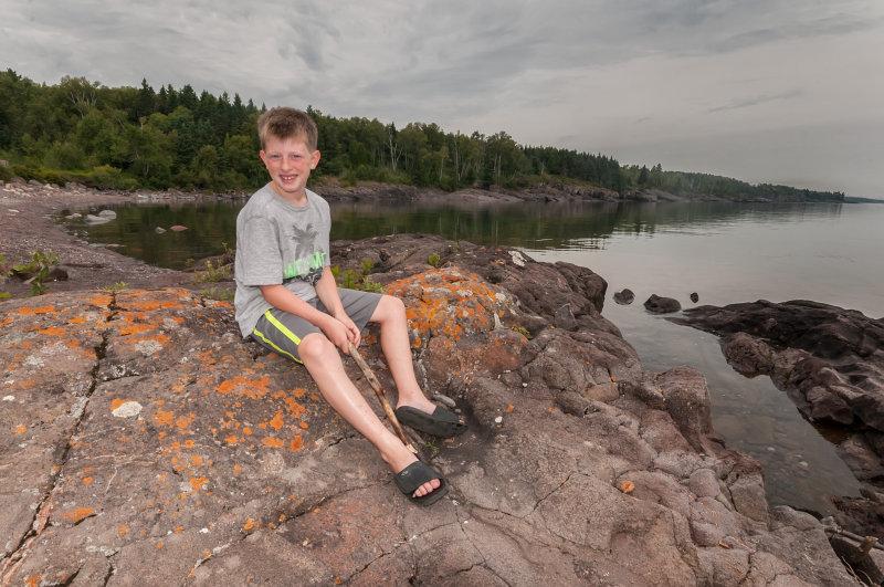 Ryan at Sugarloaf Cove 2013