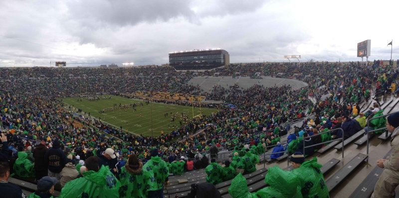 11-30-13 ND vs. Navy Game