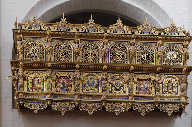 Private box of Christian IV installed around 1600