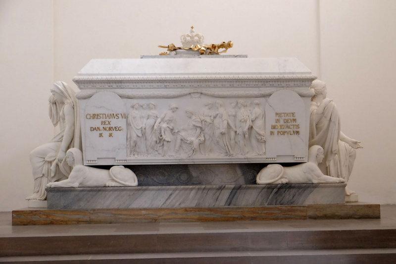 Christian VIs sarcophagus