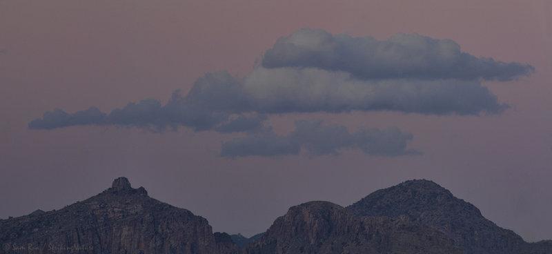 Thimble Peak Twilight Cloudscape