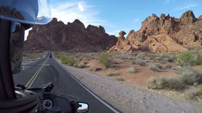 R1200RT in Valley of Fire