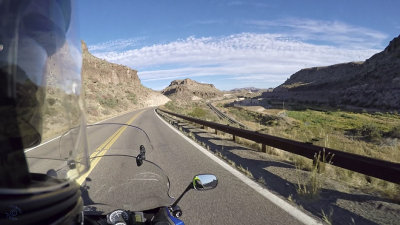 F800GT Ride on Rt 66 into Kingman, AZ