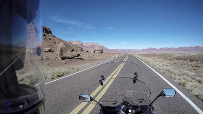 F800GT Ride on AZ Hwy 89A past Vermillion Cliffs, Marble Canyon, Colorado River