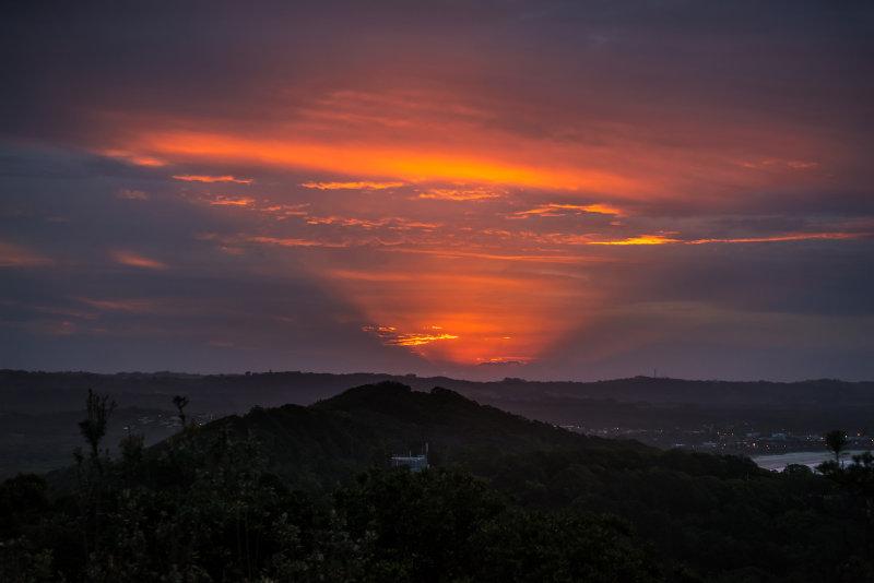 Sunset at Byron Bay, NSW