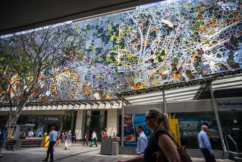 Queen Street Mall, Brisbane.