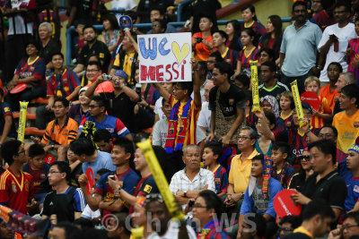 Barcelona fans