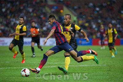 Neymar strikes