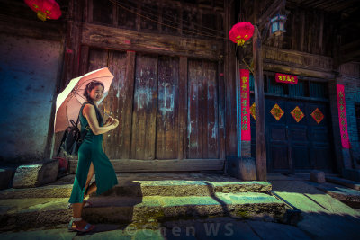 Pretty Guilin girl