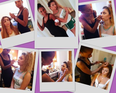 BEHIND THE SCENES WITH POLAROID....