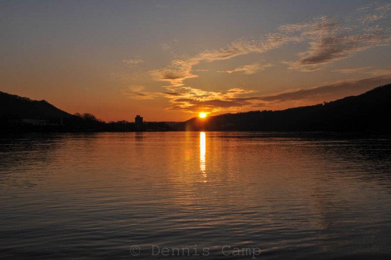 Sunrise On The Ohio River