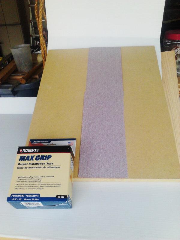 V-Drum Sander - 11 - Sanding Board