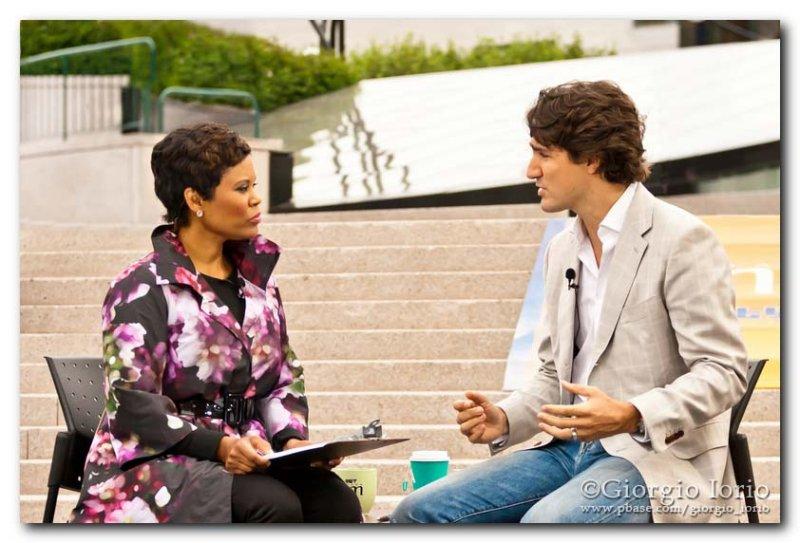 Marci Ien & Justin Trudeau  1