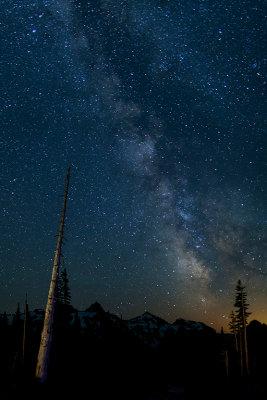 Mt. Rainier  Milky Way at Paradise