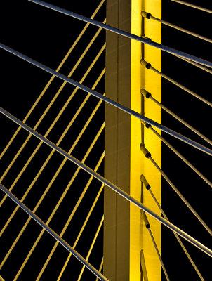 Bridge tower & cables