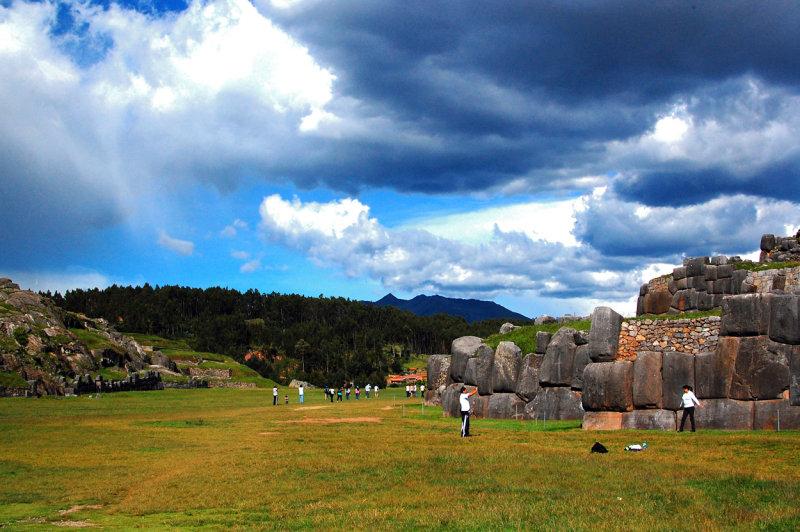 Inca Fortress of Saqsayhuamán