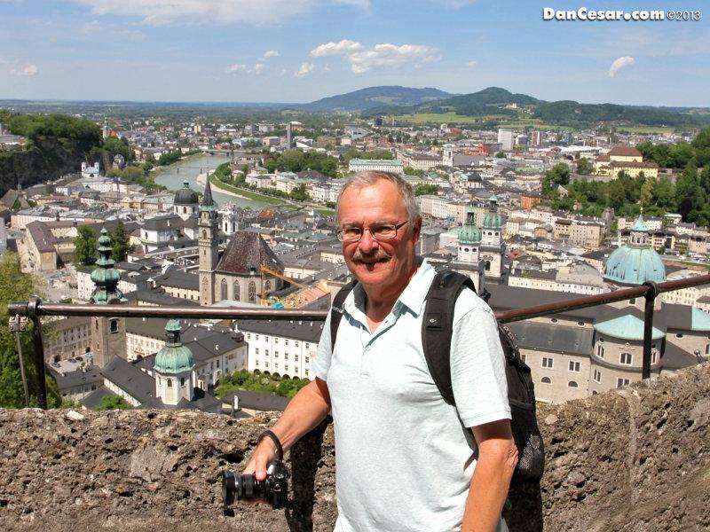 Dan at Festung Hohensalzburg