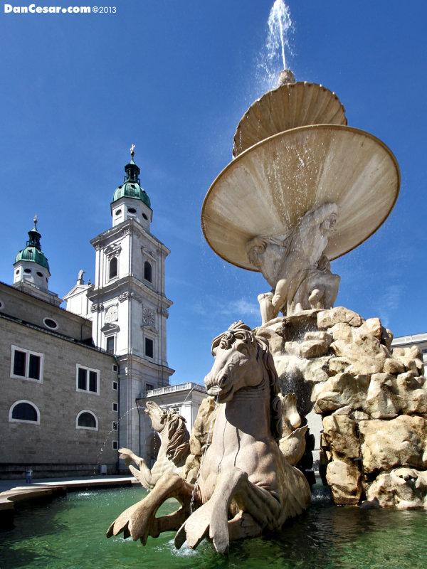 Fountain at Residenzplatz