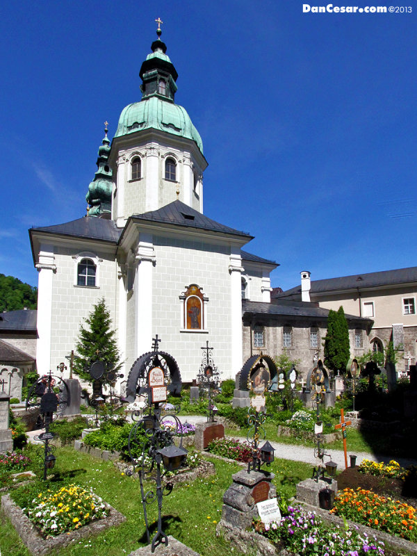 Cemetery at St. Peters Abbey