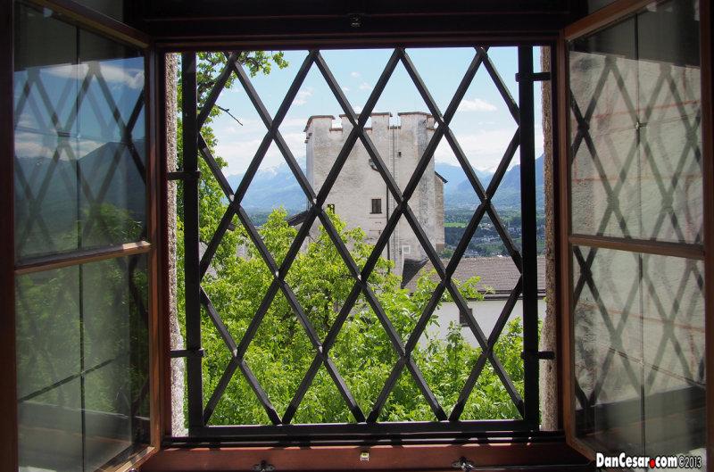Window at Festung Hohensalzburg (Salzburg Castle)