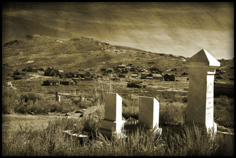 Cemetary, Bodie, CA