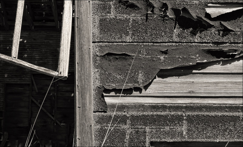 Building Detail, Oxford, Kansas