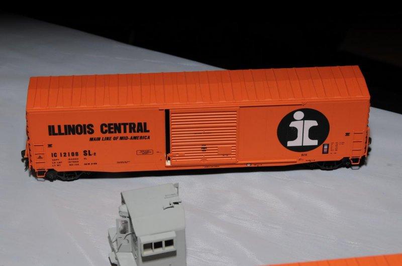 Dan Kohlberg - Illinois Central Decals