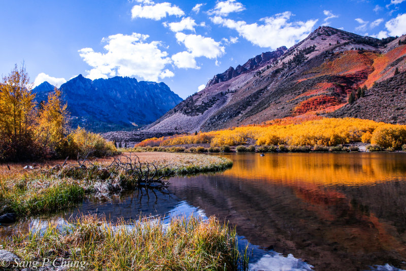 autumn colors of the North Lake