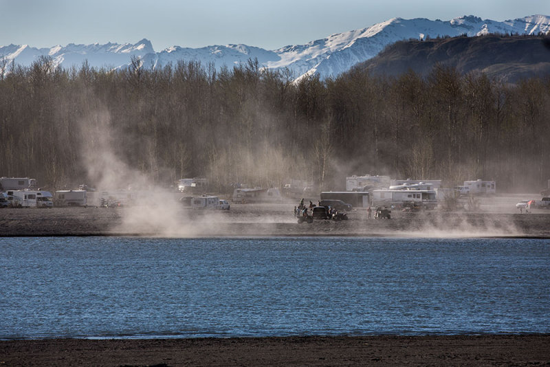 Glacial dust is picked up by the slightest breeze or by recreational users of motorcycles and quads. CZ2A1501.jpg