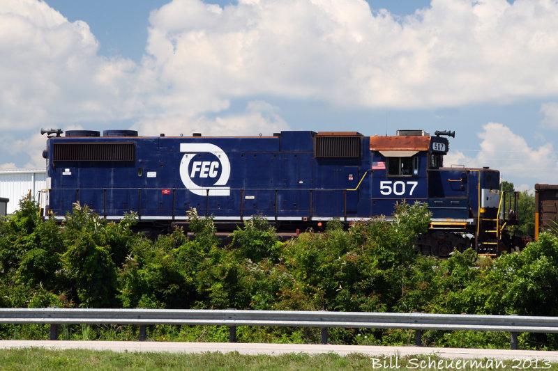 Florida East Coast Railway #507