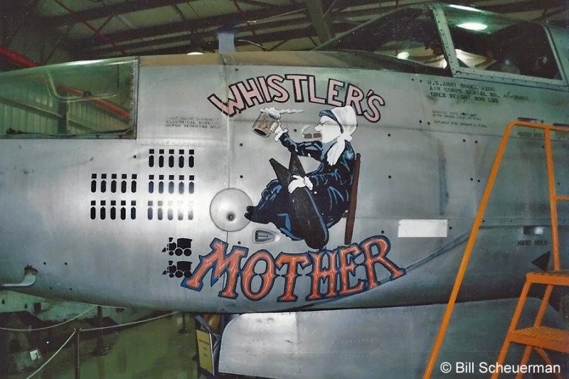B-26 Whistlers Mother