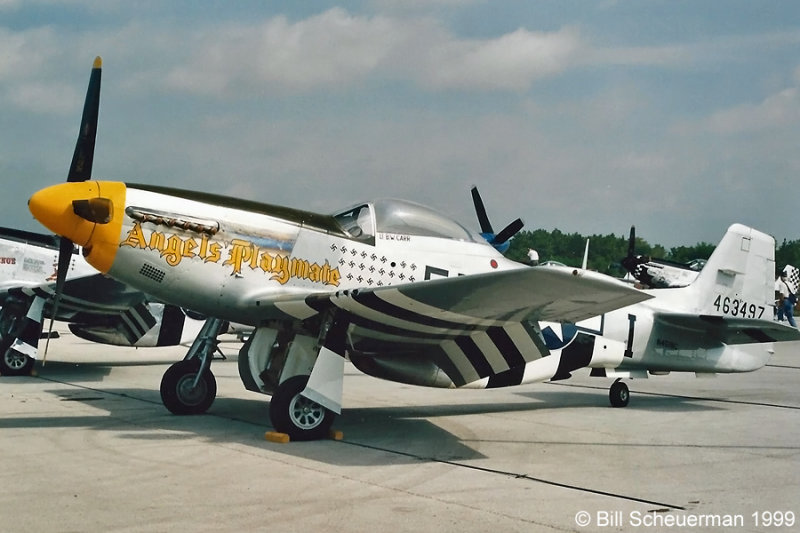 P-51 Angels Playmate