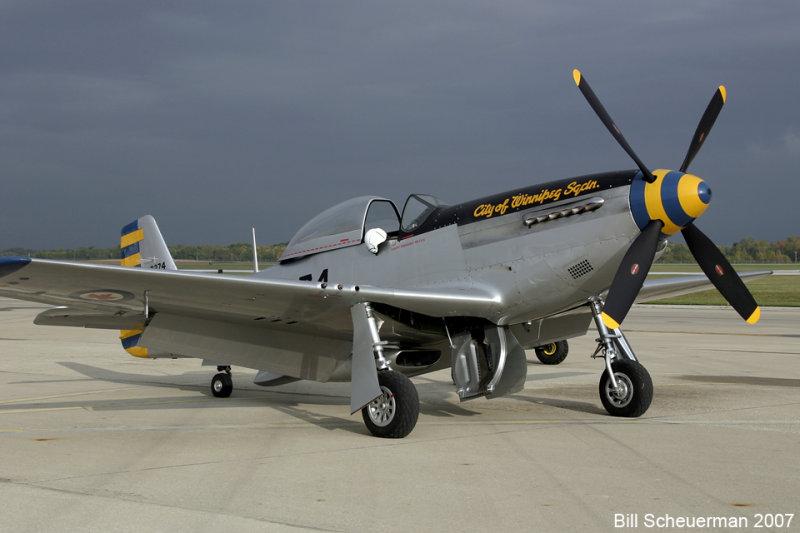 P-51 City of Winnipeg Sqdn.