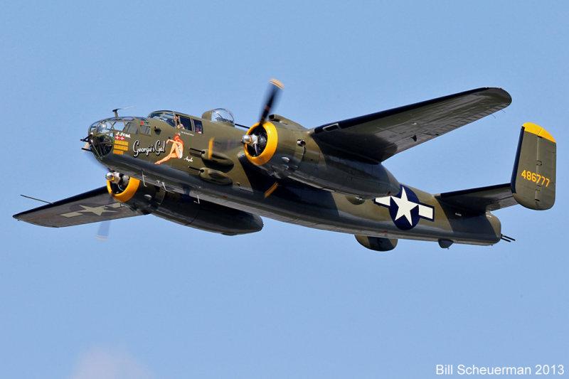 B-25 Georgies Gal